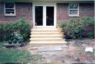 this new set of steps had to be plain, safe and of course good looking